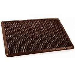 Коврик для прихожей Степ (шоколадный) 560х430х10мм