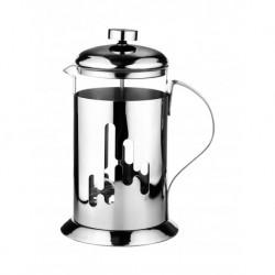 Френч-пресс 800мл для завар. кофе и чая, изгот. из термостойкого стекла и нерж. стали 18/12