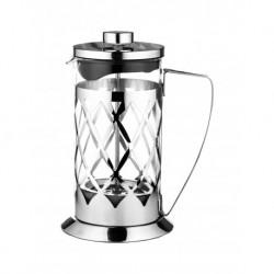 Френч-пресс 350мл для завар. кофе и чая, изгот. из термостойкого стекла и нерж. стали 18/10