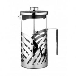 Френч-пресс 1000мл для завар. кофе и чая, изгот. из термостойкого стекла и нерж. стали 18/13