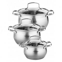 Набор посуды 6пр., нерж. сталь 0,6 мм