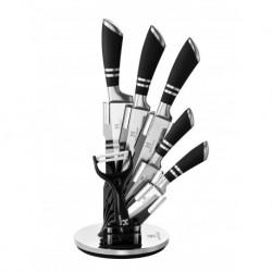 Набор ножей 7 пр, черные