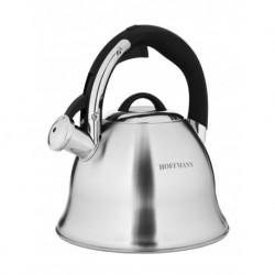 Чайник со свистком 3,3 л, нержавеющая сталь 0,6 мм.