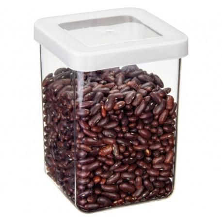 Ёмкость для сыпучих продуктов СТЕП 10×10×14 см белый 1л.